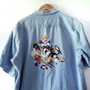 Vintage Warner Bros. Looney Tunes Shirt Large